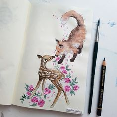 The Fox and The Fawn ♡