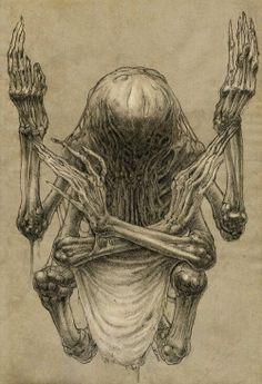 I love Art ,Horror and other nice things. Arte Horror, Horror Art, Fantasy Kunst, Dark Fantasy Art, Dark Art, Memento Mori, Lovecraftian Horror, Macabre Art, Danse Macabre