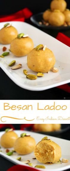 Besan Ladoo, an easy to make Indian sweet ready in about 15-20 mins. Perfect to make for Diwali, Holi or any other festivals.