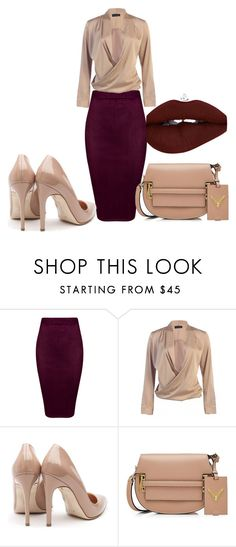 """""""Untitled #104"""" by denise-ealy on Polyvore featuring Rupert Sanderson and Valentino"""