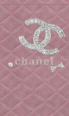Monogram Wallpaper, Pink Wallpaper Iphone, Locked Wallpaper, Cellphone Wallpaper, Aesthetic Iphone Wallpaper, Wallpaper Backgrounds, Chanel Wallpapers, Pretty Wallpapers, Chanel Background
