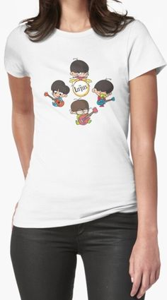 Unique design with small kids british rock band! Find it on kid's fashion, t-shirts, room and home decoration, and many more... The Beatles| yesterday| yellow submarine| help!| here comes the sun| Liverpool| rock band| music| kid's band| vinyl| gifts| sgt. pepper lonely hearts club band| aesthetic| art| poster| wallpaper| albums| British| Abbey road| los Beatles| gli scarafaggi | womans fashions Minimal Movie Posters, Film Posters, The Beatles Yesterday, Vinyl Gifts, British Rock, Music Aesthetic, Vintage Horror, Lonely Heart, Rock Posters