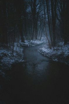 photo scenery I really enjoy dark photography. this particular photo is mysterious. & i like that the eye is led to the center, where the most light is Beautiful World, Beautiful Places, Dark Photography, Photography Lighting, Night Photography, Dark Places, Dark Fantasy, Mists, River