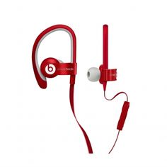 Beats by Dr. Dré PowerBeats2 rood  SHOP ONLINE: http://www.purelifestyle.be/shop/view/sports-fashion/apple-beats-in-ear/beats-by-dr.-dre-powerbeats2-rood