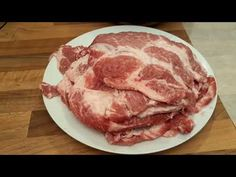 YouTube Hungarian Recipes, Meat Recipes, Bacon, Grilling, Bbq, Pork, Food And Drink, Cooking, Breakfast