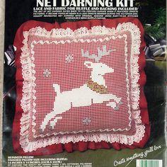 NET DARNING KITX Vogart 2941 Reindeer by DartingDogCraftyShop
