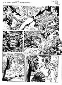 comic book art Erotic