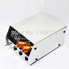 Professional New Design LCD Digital Dual Tattoo Power Supply Stainless Steel for tattoo machine gun Free Shipping