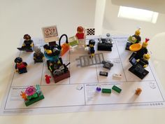 Lego Serious Play combined with Business Model Canvas - my personal Business Model
