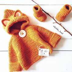 Only the most beautiful, funniest, warmest and most cozy . Only the most beautiful, funniest, warmest and most cozy … Crochet Baby Poncho, Crochet Coat, Newborn Crochet, Winter Baby Clothes, Knitted Baby Clothes, Crochet Clothes, Baby Winter, Free Knitting, Baby Knitting