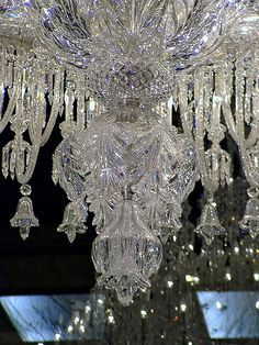 Baccarat crystal chandelier, exposed at Ebisu Garden Place for Christmas