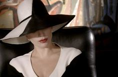 """When she wore ~classy~ black and white to her doomed meeting with Bernie Madoff. 