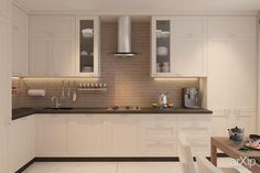 Такая вот кухня интерьеры, назначение - квартира, дом | тип - кухня | площадь - 10 - 20 м2 | стиль - скандинавский. Разместил Alexander Spy на портале arXip.com