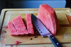 The Best Way to Cut Up a Watermelon