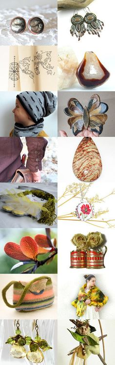 Autumn Sonate by Ewelina on Etsy--Pinned with TreasuryPin.com