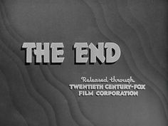 1935 - 1939   The Movie title stills collection