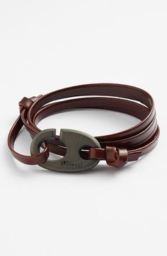 BRUMMEL LEATHER BRACELET