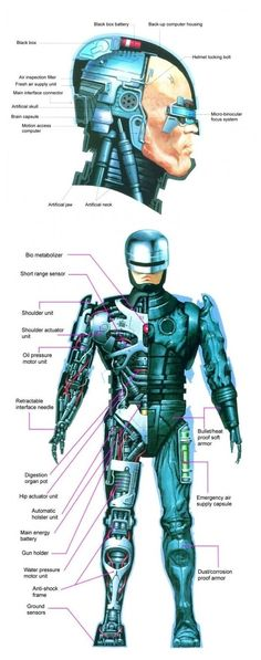 Robocop Anatomy
