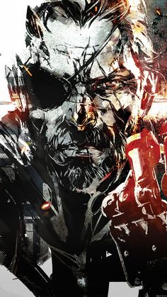 Metal Gear Solid Wallpaper || Metal Gear Solid V The Phantom Pain