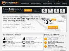 StableHost.com - 5GB Space, 100GB Transfer, Unlimited Domains.   $5.95/month
