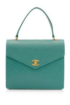 Mint Green Vintage Chanel... Can it get any better?
