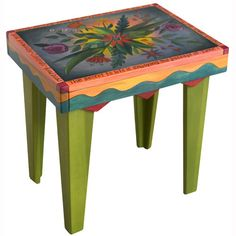 Sticks Rectangular End Table END004 D78806, Artistic Artisan Designer Tables