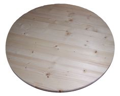 """23/32"""" x 30"""" Pine Round Table Top, Allwood Edge Glued Knotty Pine product #Allwood"""