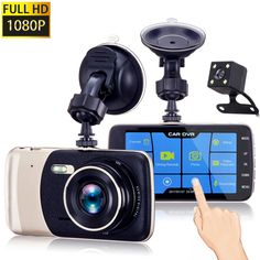 Bellcam Dash Cam, Car Camera Vehicle Full HD 1080P Touch Screen, Dashboard Camera Car Video Recorder ,Wide Angle 130° Lens