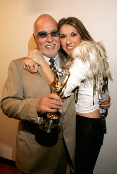 Tender moments from Celine Dion and René Angelil's 21-year marriage -  Later that year Celine was presented with the Diamond Award at the World Music Awards for being the World's Best Selling Female Artist of All Time in 2004.