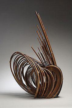 Bamboo art by Kazuaki Honma, Japan
