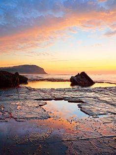 Forrester Beach, Sydney New South Wales, Australia by Christian Fletcher