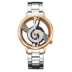 GEEKTHINK Hollow Quartz Watch Women Luxury Brand Gold Ladies Casual Classic Design Stainless steel Wristwatch Clock Female new