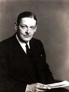 T.S. Eliot -  is synonymous with modernism.  Everything about his poetry bespeaks high modernism: its use of myth to undergird and order atomized modern experience; its collage-like juxtaposition of different voices, traditions, and discourses; and its focus on form as the carrier of meaning.