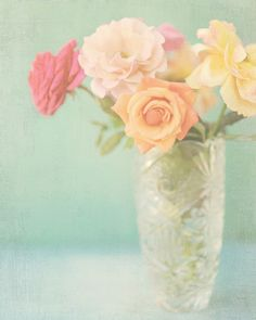 """Pastel Roses"" by Shana Rae on Flickr"