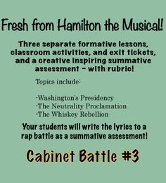 Ethnographic Essay Examples Hamilton Vs Jefferson  Using Hamilton The Musical In The Classroom  The  Students Will Write A Rap Battle About The Whiskey Rebellion Should The Drinking Age Be Lowered To 18 Essay also Samples Of Essay Outlines Federalist Vs Antifederalists  U S History  Pinterest  Social  Revolutionary Road Essay