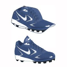 Baseball shoe caps