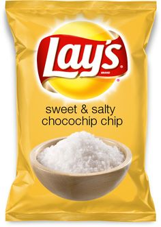 sweet & salty chocochip chip - vote for me at lays.ca/flavour - Lays Do Us a Flavour Contest