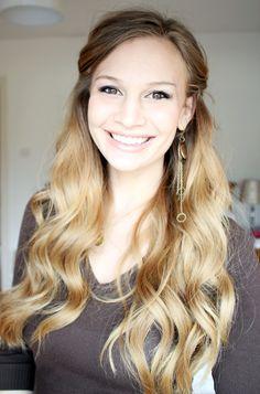 Anna Saccone: Princess Wavy Hair Tutorial!
