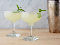 Southside Cocktail Recipe : Geoffrey Zakarian : Food Network - FoodNetwork.com (S1/Conquer and Cook)