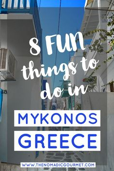Enjoyed all the parties and now looking for other fun activities in Mykonos? Read this post for 8 Fun Things to do in Mykonos Greece Vacation, Greece Travel, Greece Honeymoon, Honeymoon Ideas, Sorrento, Amalfi, Europe Travel Tips, Travel Destinations, Travel Guide