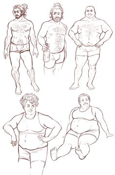 "bearphomet: "" ofools: "" bearphomet: "" ofools: "" spent two hours just sketching some bodies, kinda wanted to draw some weight lifters/shot putters eventually "" I fight manbun mcbeefy I smooch beefy neck I also smooch curly top and cute smiley We are..."