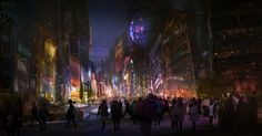 ArtStation - City Life, Lisa Nguyen