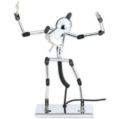 Holmes Black Robot Desk Lamp