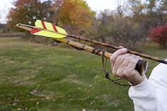 Atlatl - Hands down, coolest way to throw a dart.