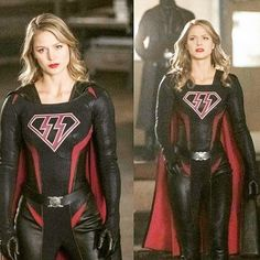 looks amazing in the new costume. The costume designers need to win award for this show. Supergirl Superman, Supergirl And Flash, Melissa Supergirl, Melissa Marie Benoist, Kara Danvers Supergirl, Cinema Tv, Batwoman, Marvel Dc Comics, Looks Cool