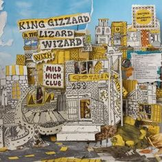 King Gizzard and The Lizard Wizard with Mild High Club - Sketches of Brunswick East Vinyl LP October 13 2017 Pre-order