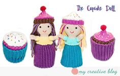Looking for your next project? You're going to love Cupcake Doll by designer HeatherBoyer.