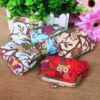 Material: canvas Color: Red, Blue, Green, Pink Size: about 9cm(length) x 7cm(width) Cute, fashion an
