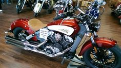 Indian Scout - custom painted motorcycle