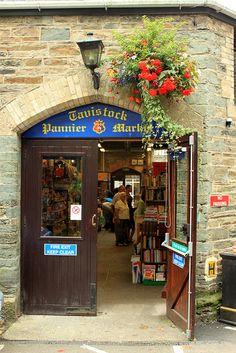 Tavistock Pannier Market:  2010-08 Tavistock 021 by Edmund Nigel Gall